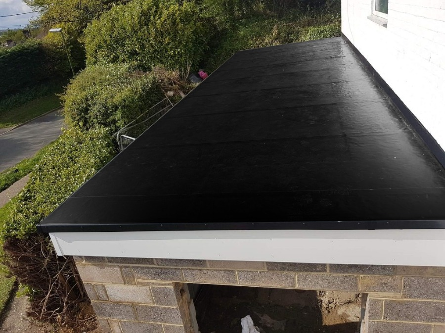Flexi Proof Flat Roofing System EPDM Rubber Roofing Flat Roof