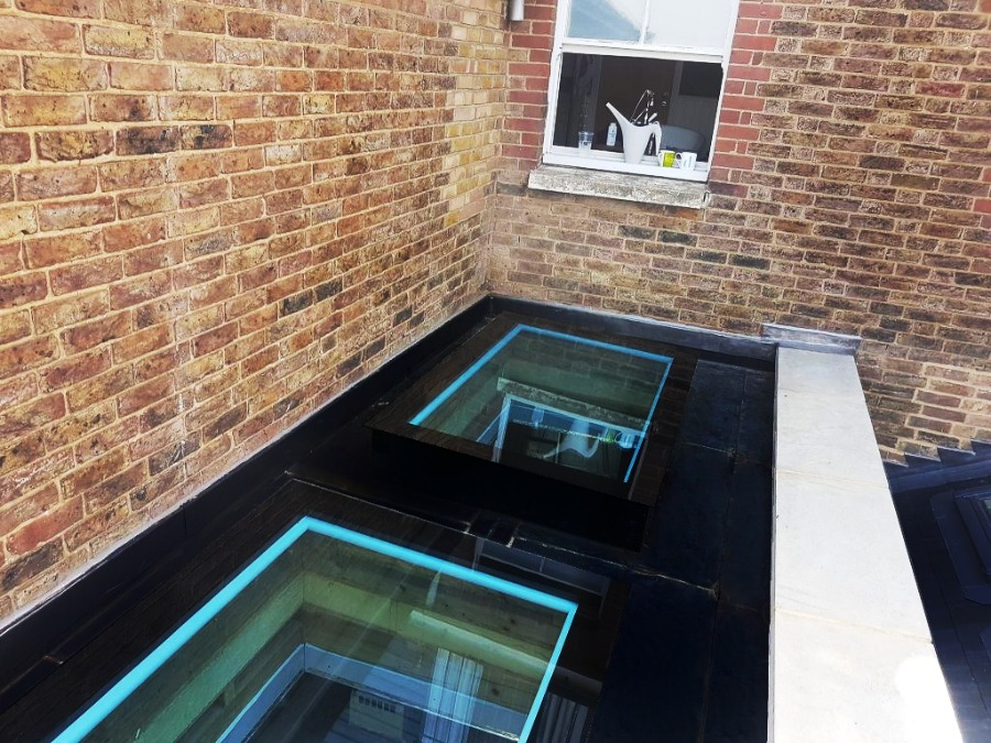 One PIece EPDM Rubber Roofing Skylight for Flat Roofs