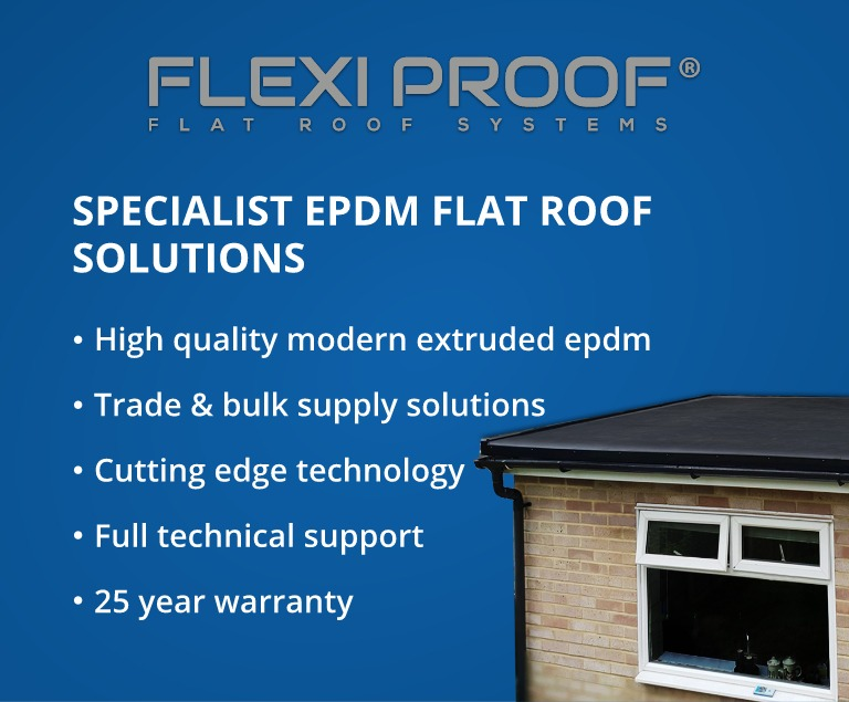 EPDM Rubber Roofing Supplier Specialists
